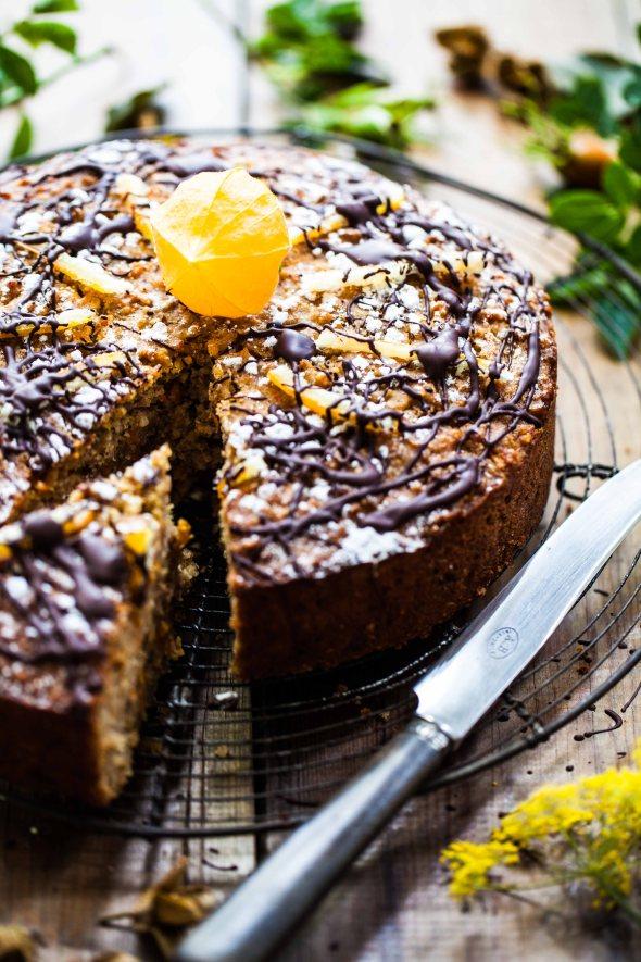 Carrot & quinoa cake-1-2