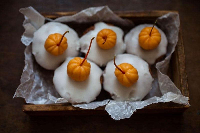 Haloween squash and almond cake-9