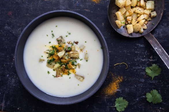 Parsnip soup-2