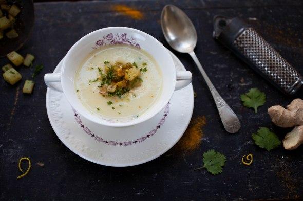 Parsnip soup-5