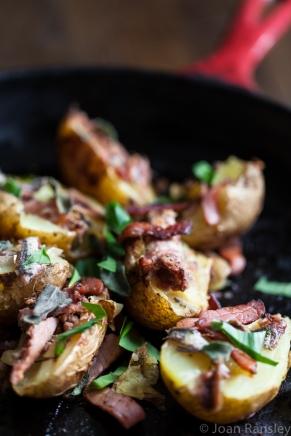 Garlic, anchovy and sage potatoes-5