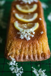 Elderflower & lemon polenta cake-3