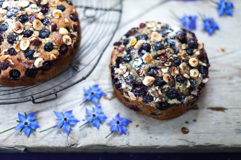 Final Blueberry cake