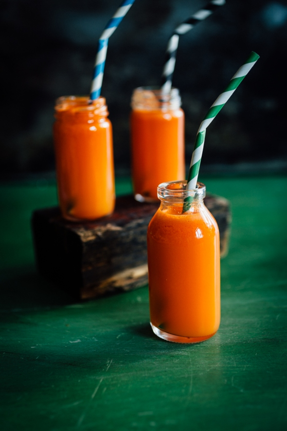 Carrot and ginger juice-4