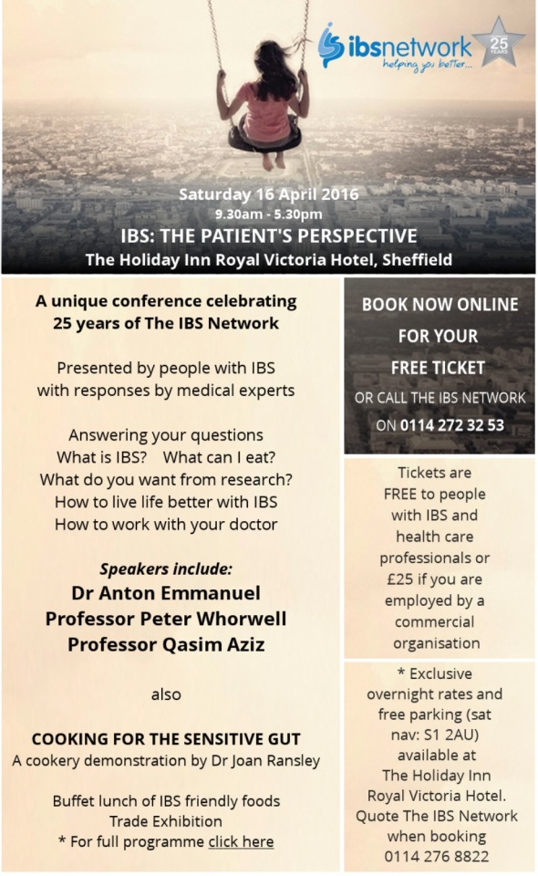 IBS 25 yr Conference Flyer