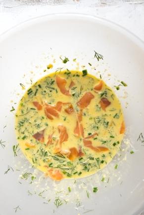 Salmon 7 dill potato rostis