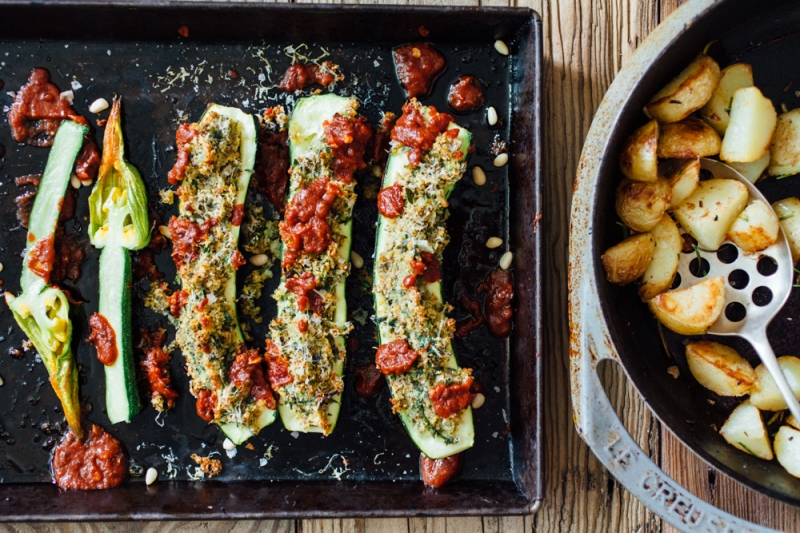 Stuffed courgettes-9